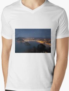 View of San Sebastian Mens V-Neck T-Shirt