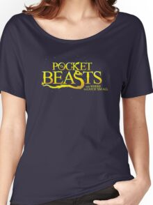Pocket Beasts Women's Relaxed Fit T-Shirt