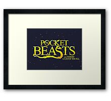 Pocket Beasts Framed Print