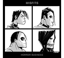 The Misfits in Gorillaz Style Photographic Print