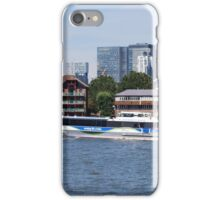 Thames Clippers at Thames Greenwich London iPhone Case/Skin