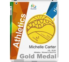 Michelle Carter Gold Medal Olympic Rio 2016 iPad Case/Skin