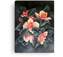 Pink Magnolia - Magnolia Rosa - Magnolia Rose (Original) Canvas Print