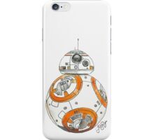 BB-8 Watercolor iPhone Case/Skin
