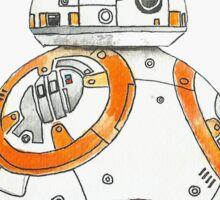 BB-8 Watercolor Sticker