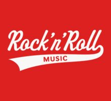Rock 'n' Roll – Music (White) by MrFaulbaum