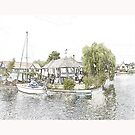 A Day on the Broads by Catherine Hamilton-Veal  ©