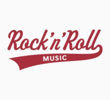 Rock 'n' Roll – Music (Red) by MrFaulbaum