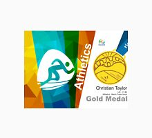 Christian Taylor Gold Medal Olympic Rio 2016 Unisex T-Shirt