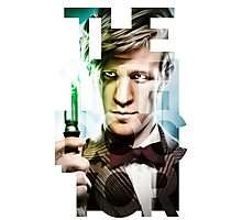 The 11th Doctor Photographic Print