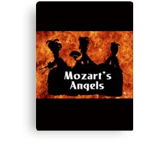 "Mozart and Marie ""Mozart's Angels"" Canvas Print"