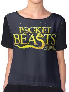 Pocket Beasts Chiffon Top