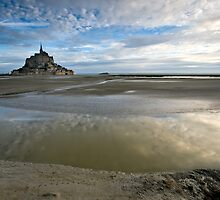 Bay of Le Mont St Michel by PhotoBilbo