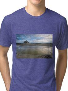 Bay of Le Mont St Michel Tri-blend T-Shirt