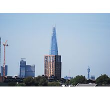 Chocolate Shard view from Greenwich Photographic Print