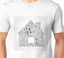 Music the house Unisex T-Shirt