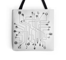 Music the scheme Tote Bag