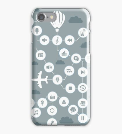 Music the sky iPhone Case/Skin