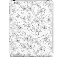 Cherry blossom seamless pattern iPad Case/Skin