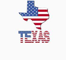 Texas Map USA Flag T-Shirt Unisex T-Shirt