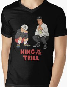 King of the Trill Mens V-Neck T-Shirt