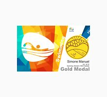 Simone Manuel Gold Medal Oplympic Rio 2016 Unisex T-Shirt