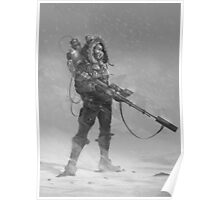 Sniper Babe Poster