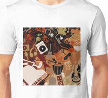 Musical background3 Unisex T-Shirt
