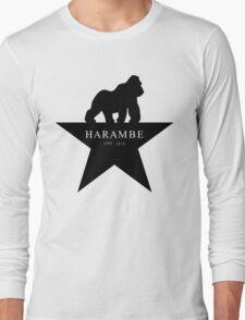 RIP Harambe - Hamilton Style Long Sleeve T-Shirt