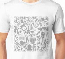 Musical background7 Unisex T-Shirt