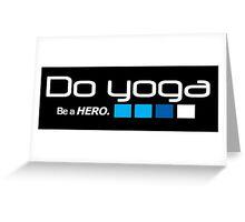 Do YOGA Greeting Card