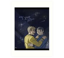 Without You Art Print