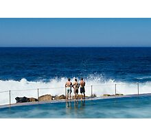 Surf's Up - Bronte Beach, Australia Photographic Print