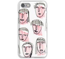 Pink Faces iPhone Case/Skin