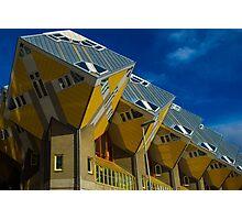 Rotterdam Cube Houses Photographic Print