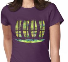 Sailing Green Houseboat Womens Fitted T-Shirt