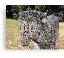 The Ultimate Low Maintenance Cow! Canvas Print