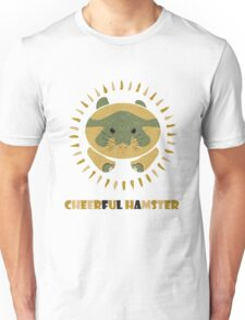 cheerful hamster Unisex T-Shirt