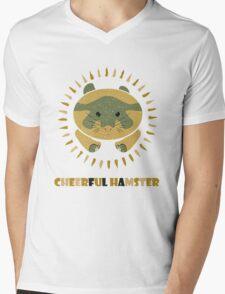 cheerful hamster Mens V-Neck T-Shirt