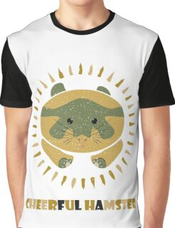 cheerful hamster Graphic T-Shirt