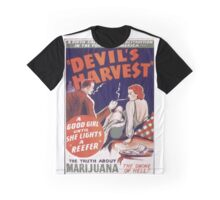 Marijuana The Devil's Harvest Graphic T-Shirt
