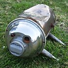 Metal Pig Dog by Vicki Childs