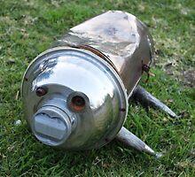 Metal Pig Dog by Vicki Childs