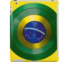 CAPTAIN BRAZIL - Captain America inspired Brazilian shield iPad Case/Skin