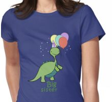 Baby Dinosaur One Womens Fitted T-Shirt
