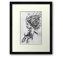 """Breeze"" Framed Print"