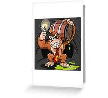 Donkey Kong special Fire Greeting Card