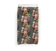 Donkey Kong special Fire Duvet Cover