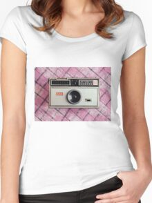 instamatic 104 camera Women's Fitted Scoop T-Shirt