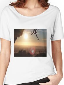 Sunrise Over the Hill Women's Relaxed Fit T-Shirt
